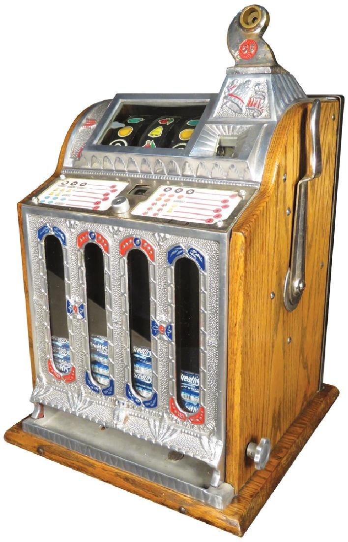 Mills 5 Cent Mint Vender Slot Machine