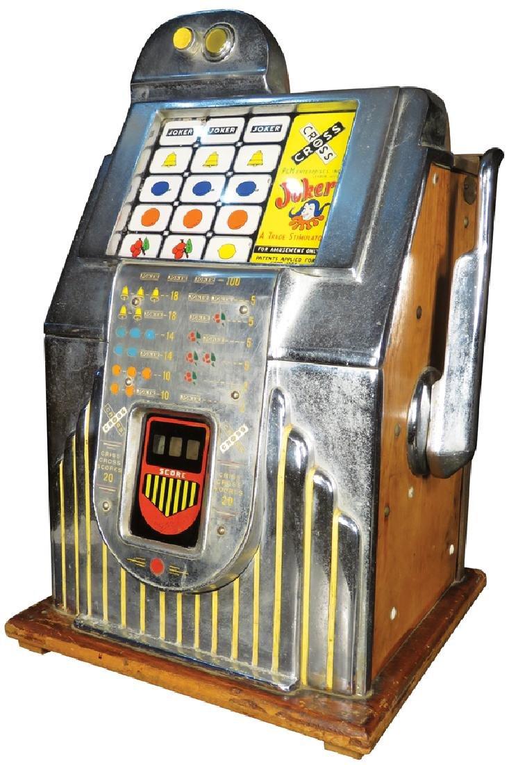 P & M Enterprises Criss Cross Slot Machine