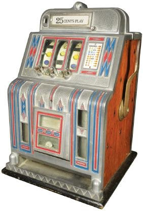 25 Cent Play Slot Machine