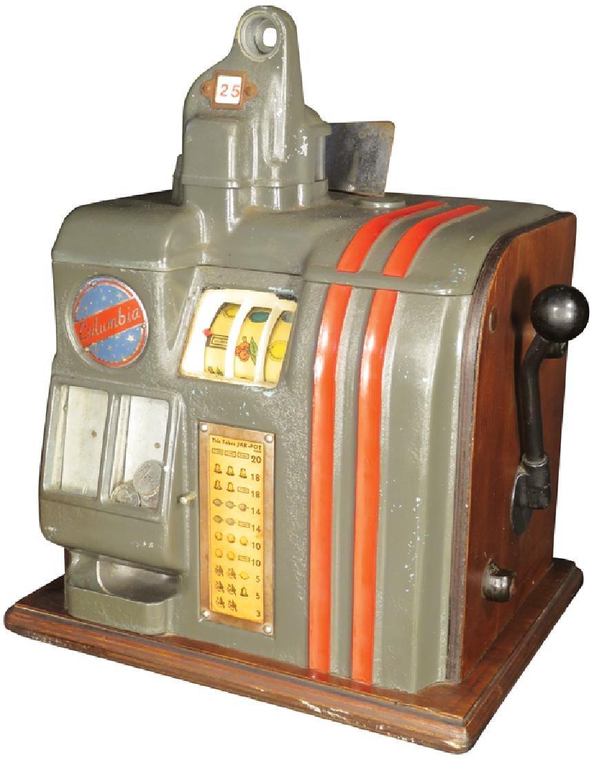 Columbia 25 Cent Slot Machine