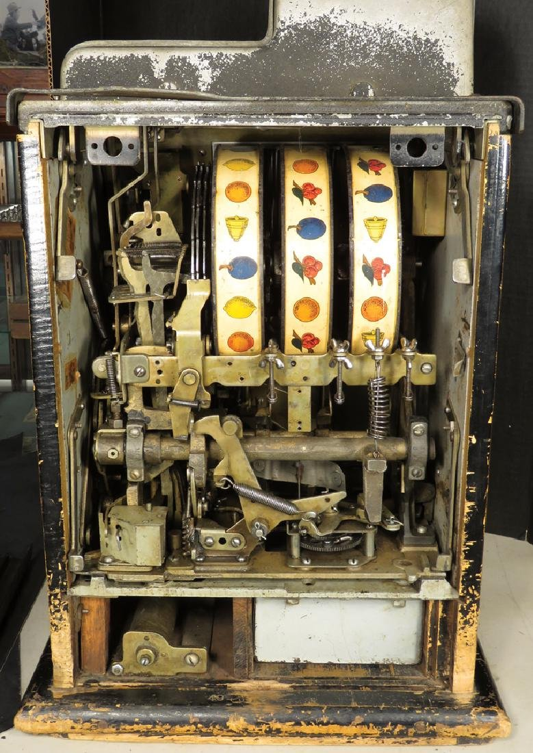 Mills 5 Cent Cherry Front Slot Machine - 3