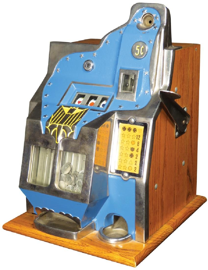 Mills 5 Cent Coin Operated Slot Machine