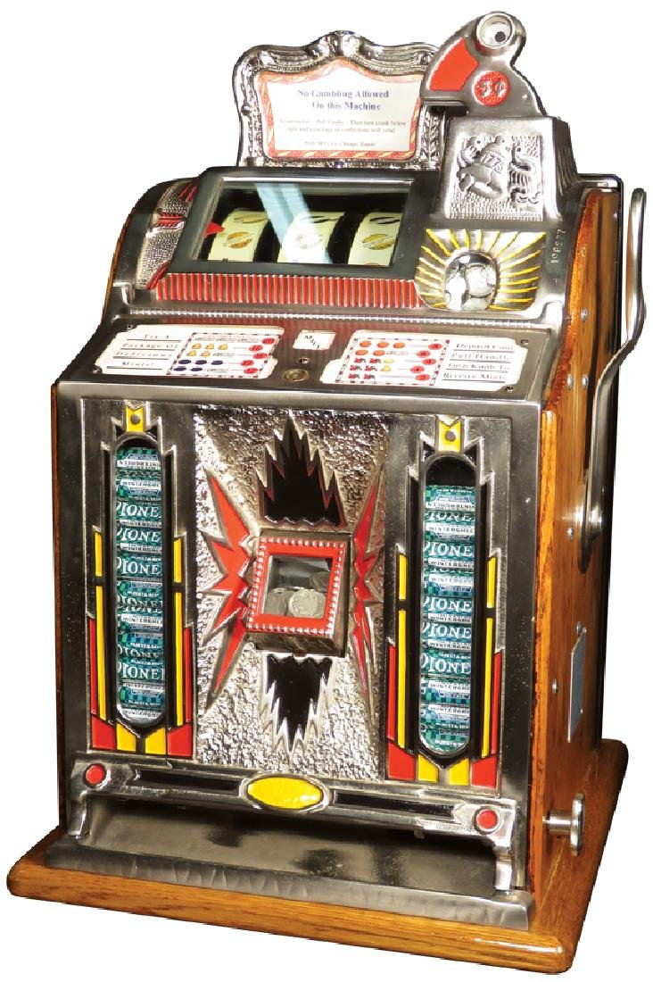 Mills O.K. Vender 5 Cent Slot Machine