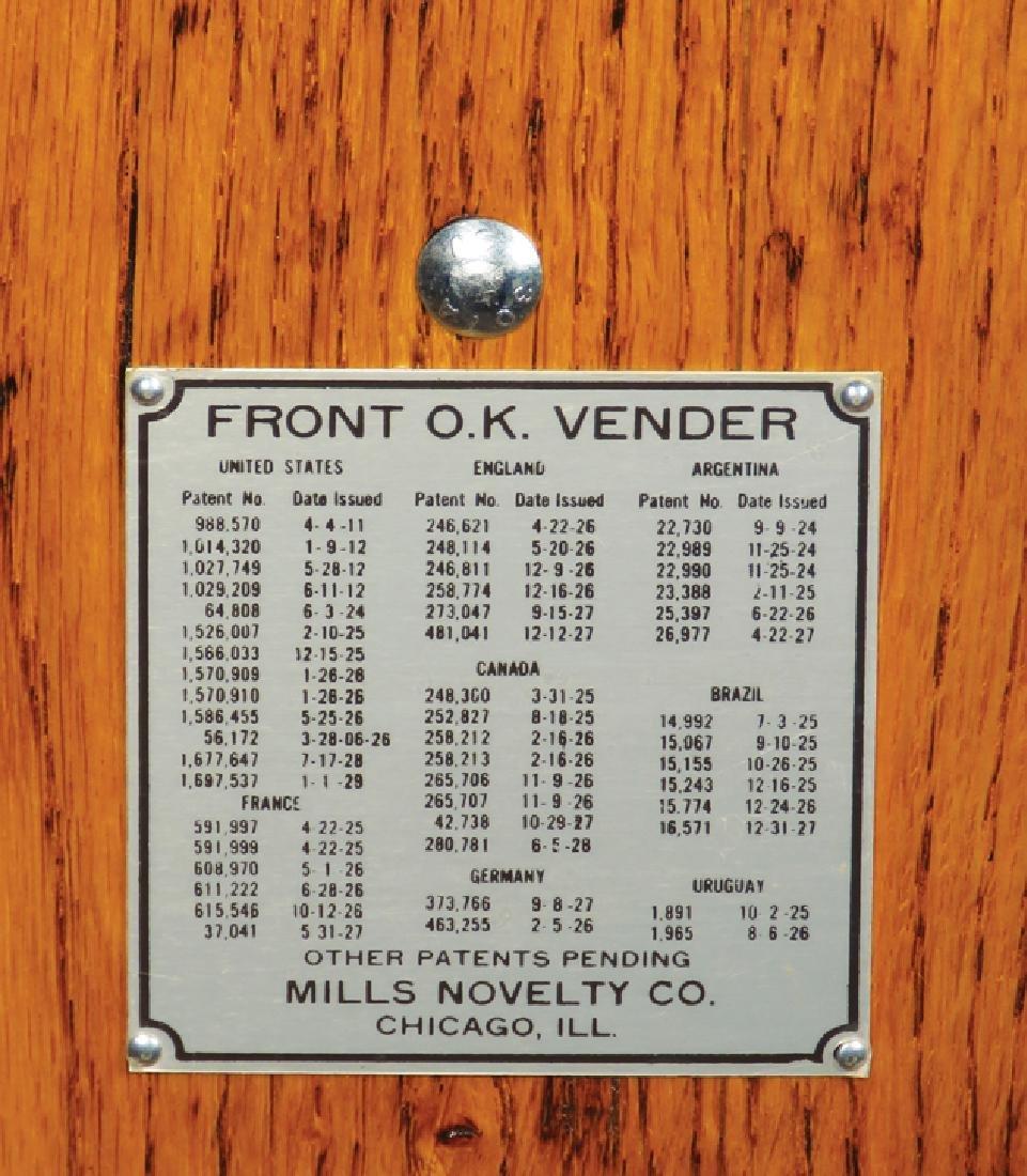 Mills O.K. Vender 5 Cent Slot Machine - 4