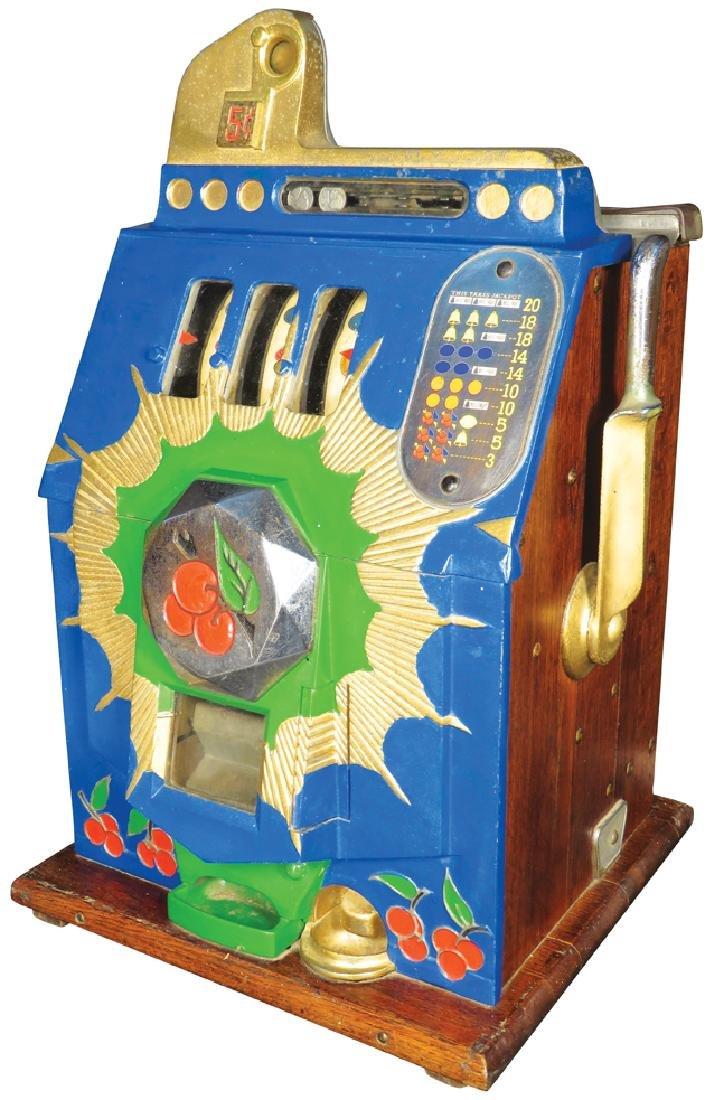 Mills 5 Cent Cherry Burst Slot Machine