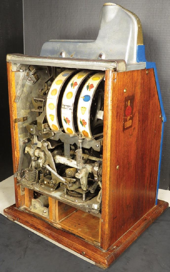 Mills 5 Cent Cherry Burst Slot Machine - 2