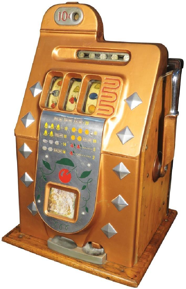 Mills 10 Cent Diamond Front Slot Machine