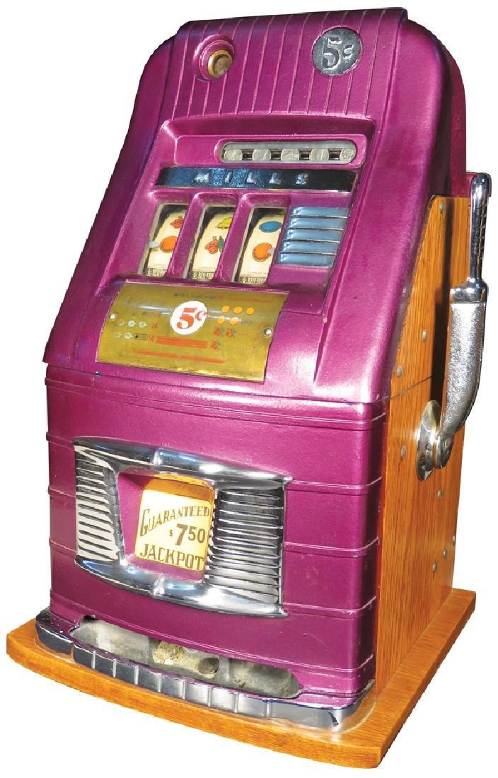 Mills 5 Cent Hi-Top Slot Machine