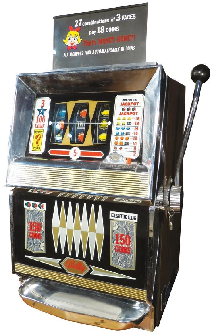 Balley 5 Cent Electro Mechanical Slot Machine