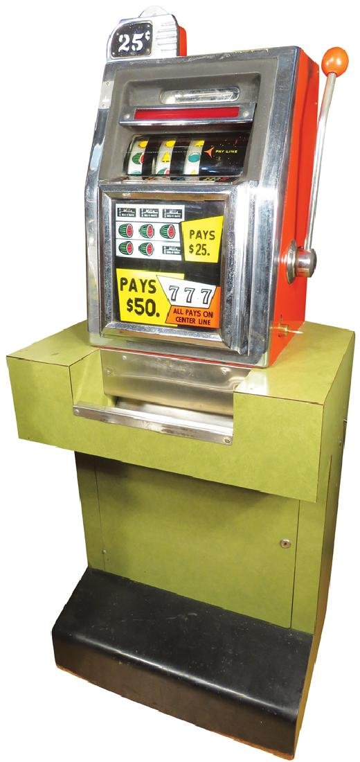 Mills 25 Cent Bell-O-Matic Slot Machine