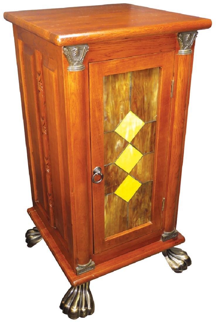 Contemporary Slot Machine Oak Cabinet