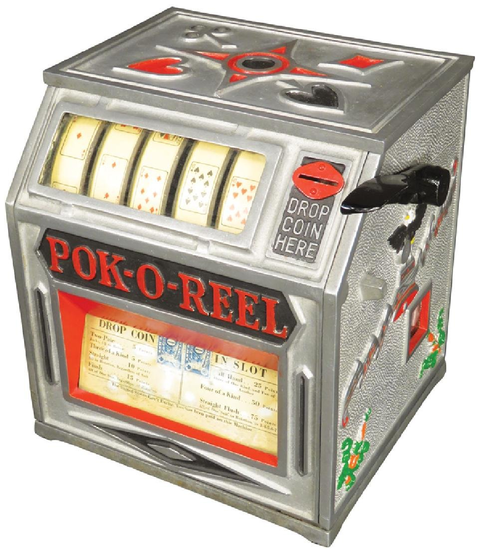 Pok-O-Reel 5 Cent Trade Stimulator