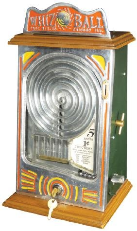 Whiz Ball Coin Operated Game of Skill
