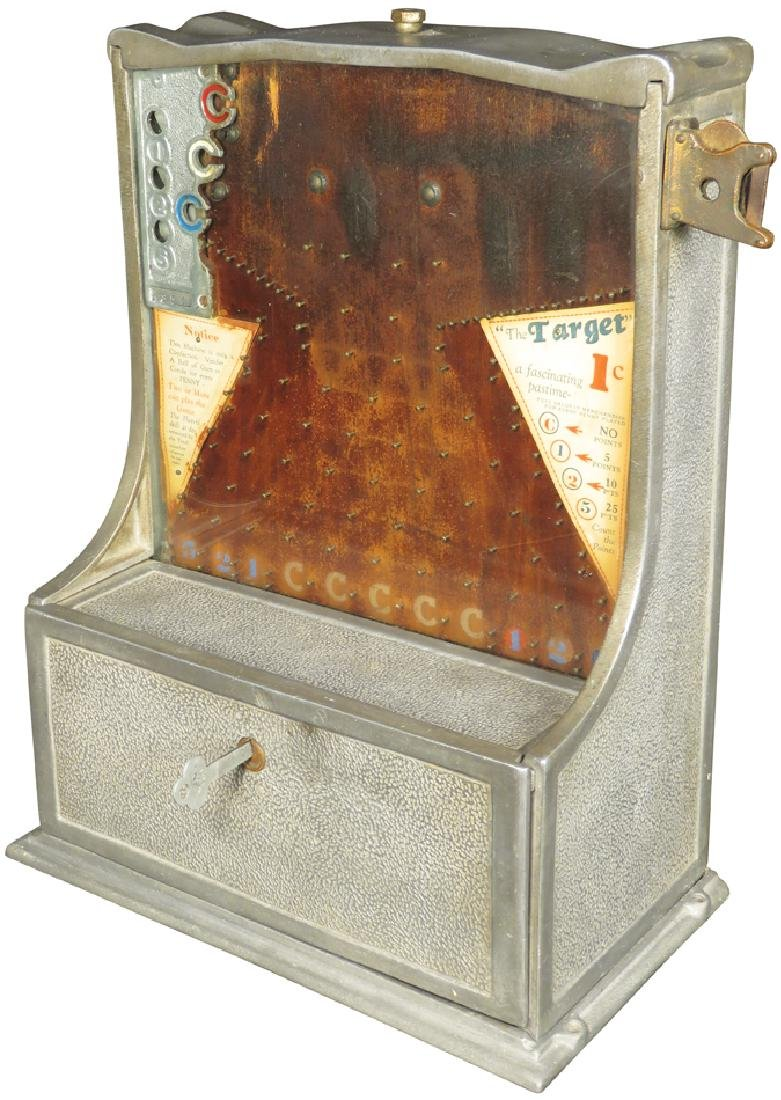 Coin Operated 1 Cent Target Skill Game