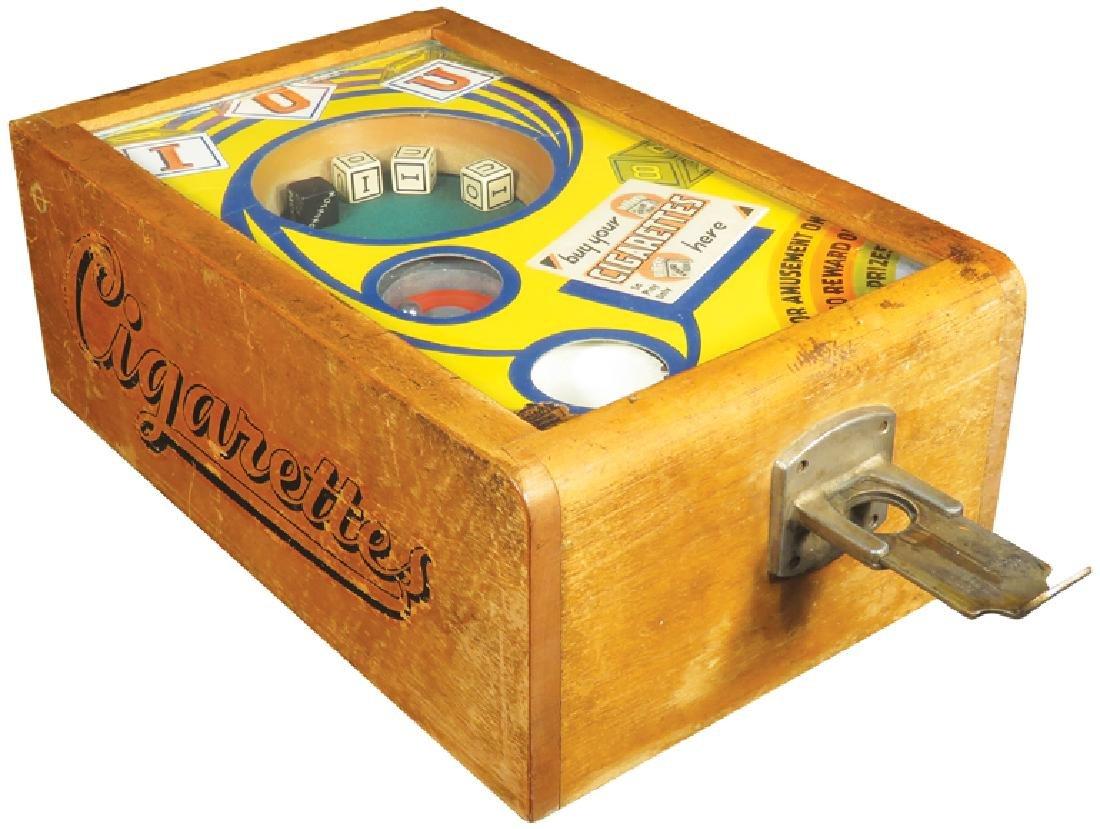 """IOU"" Coin Operated 5 Cent Trade Stimulator"