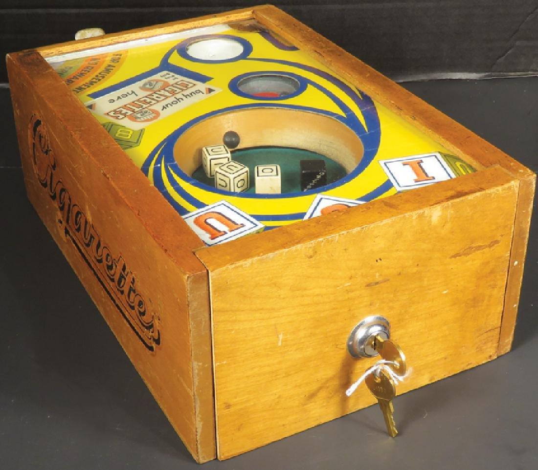 """IOU"" Coin Operated 5 Cent Trade Stimulator - 2"