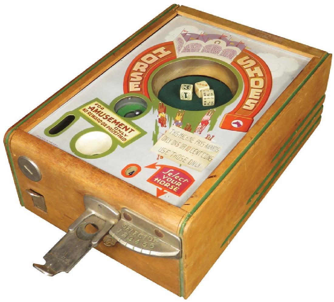 Horse Shoes Coin Operated Trade Stimulator