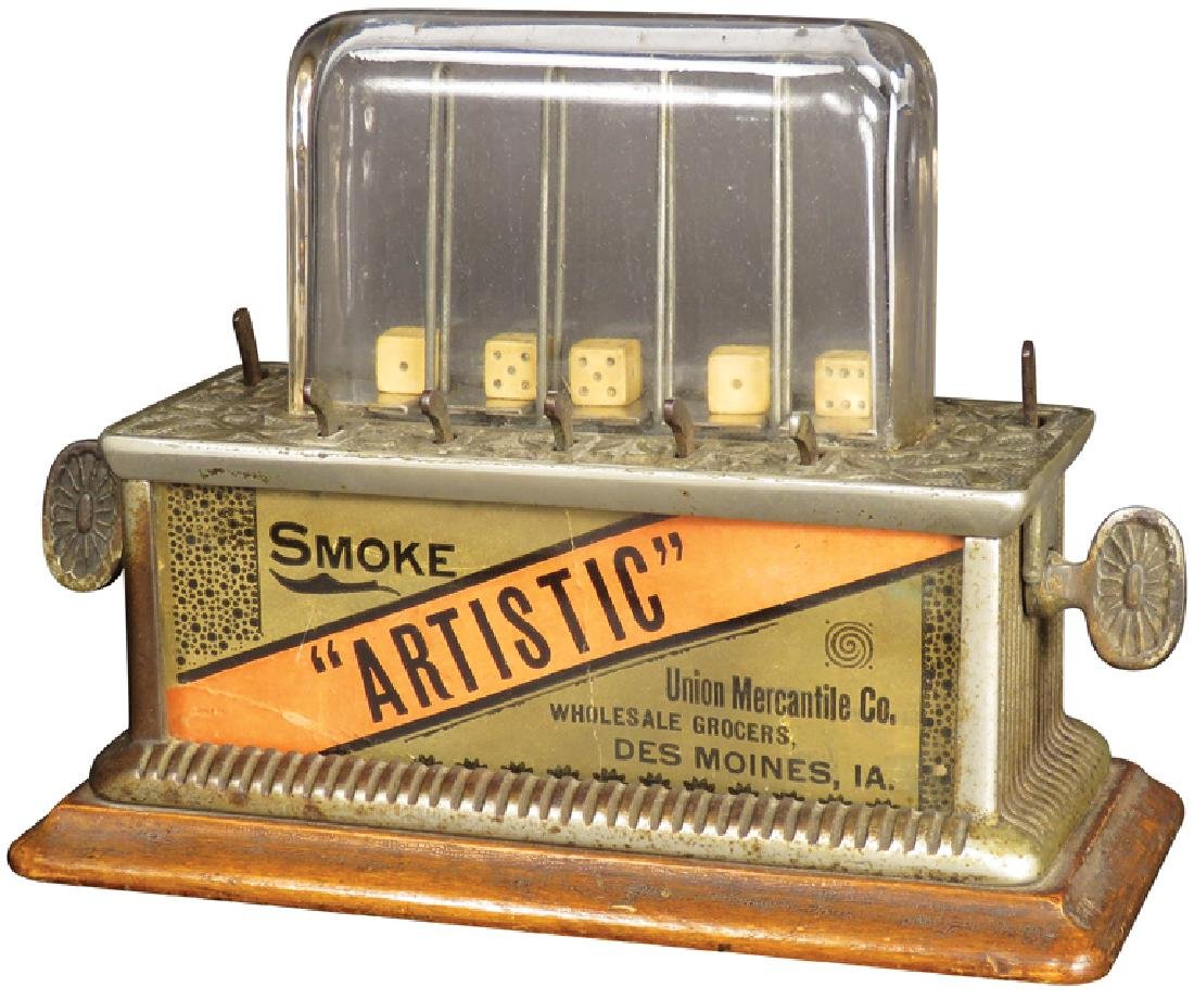 Dice Game Trade Stimulator, cA 1891