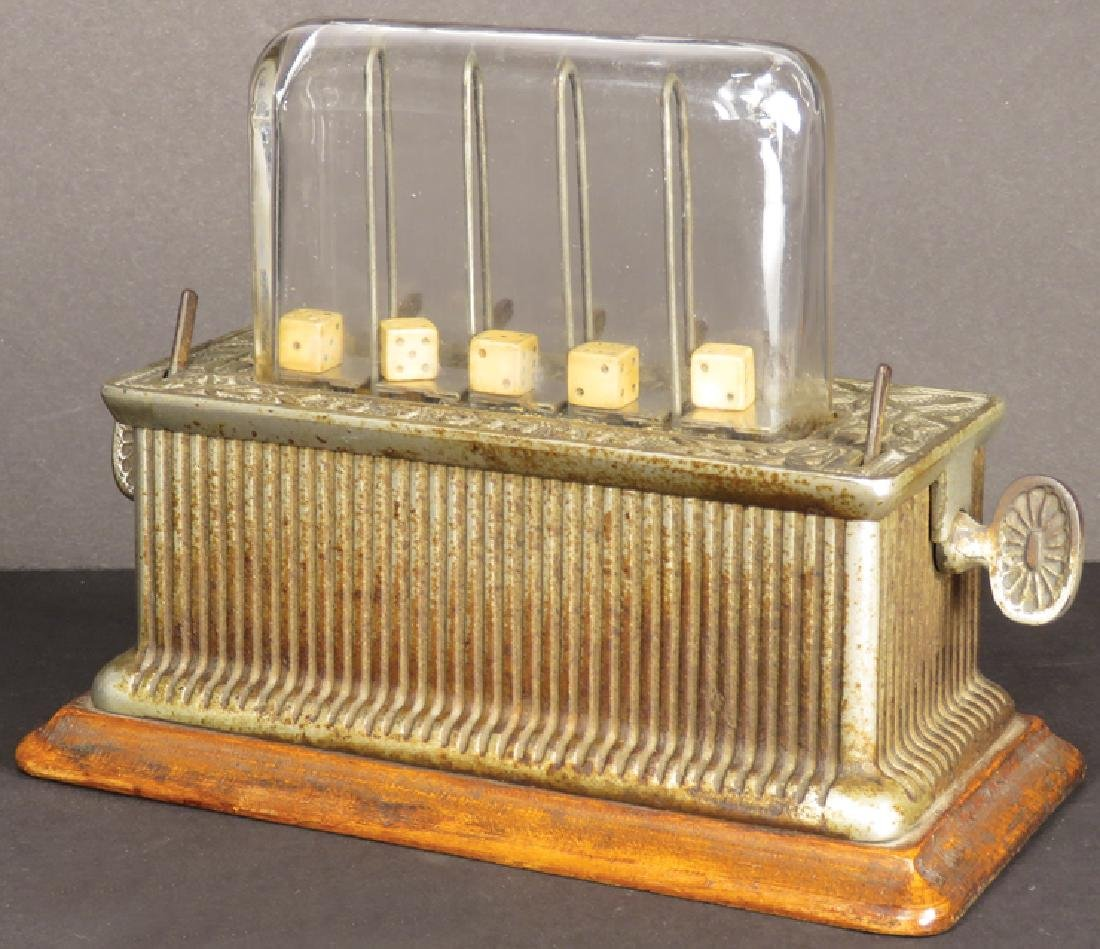 Dice Game Trade Stimulator, cA 1891 - 2