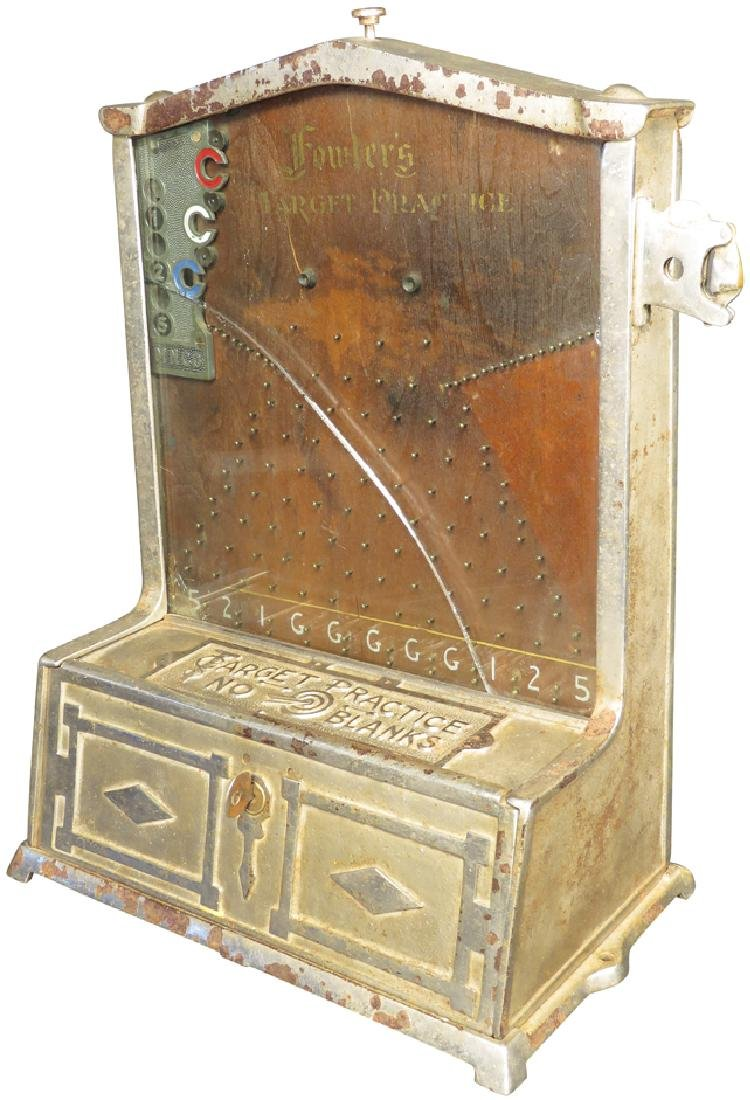 Fowler's Coin Operated Target Practice Game