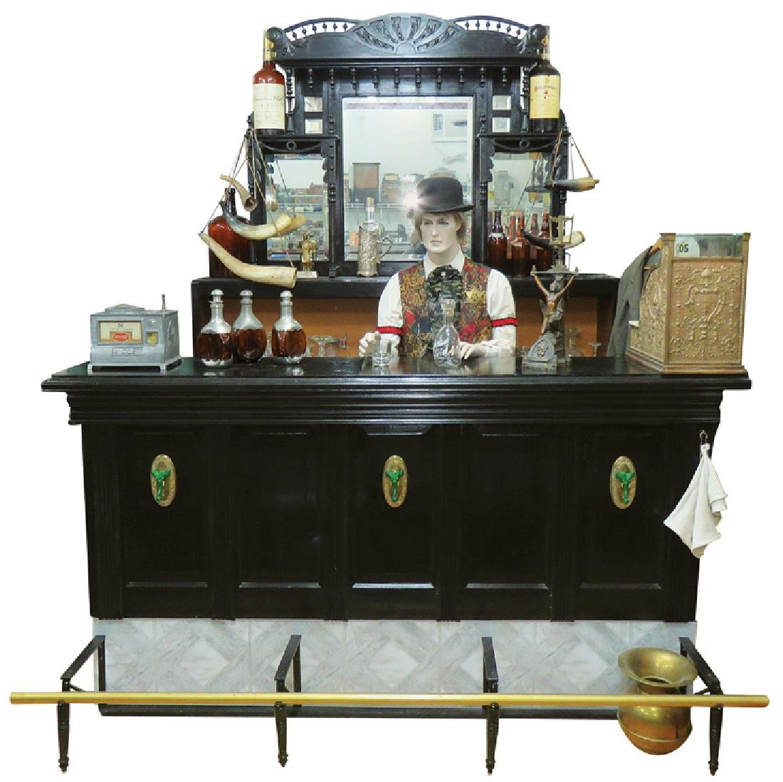 Victorian Saloon Back and Front Bar