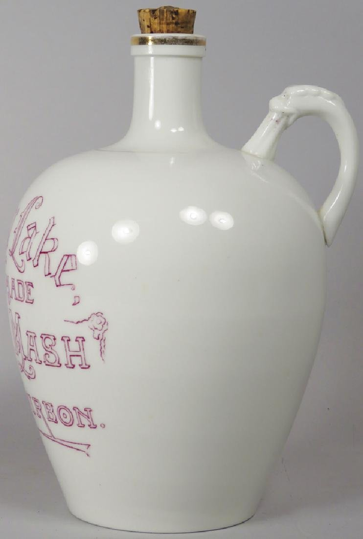 Spring Lake Sour Mash Bourbon Porcelain Jug - 2