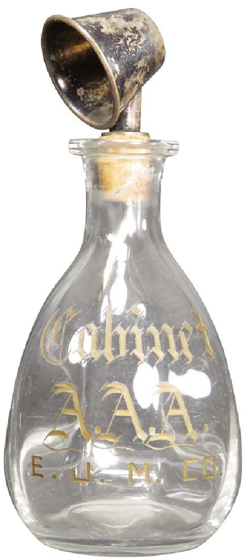 Cabinet AAA Saloon Back Bar Pinch Bottle