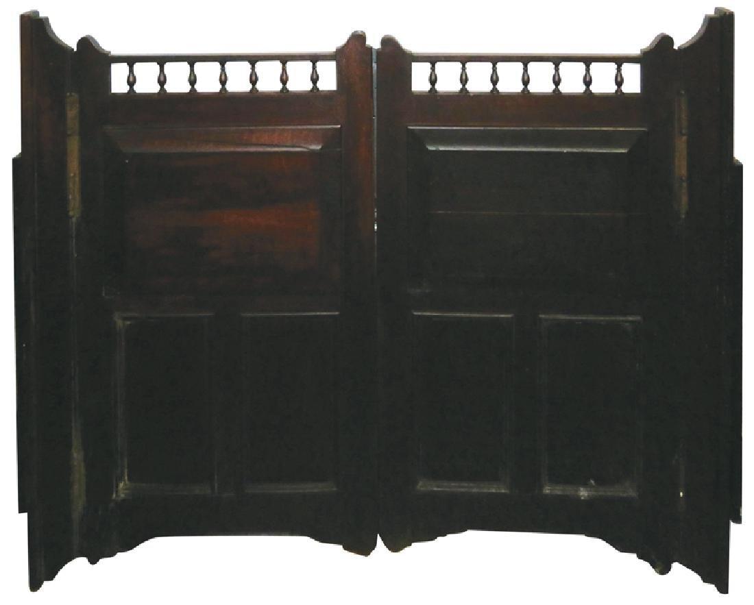 Mahogany Saloon Doors