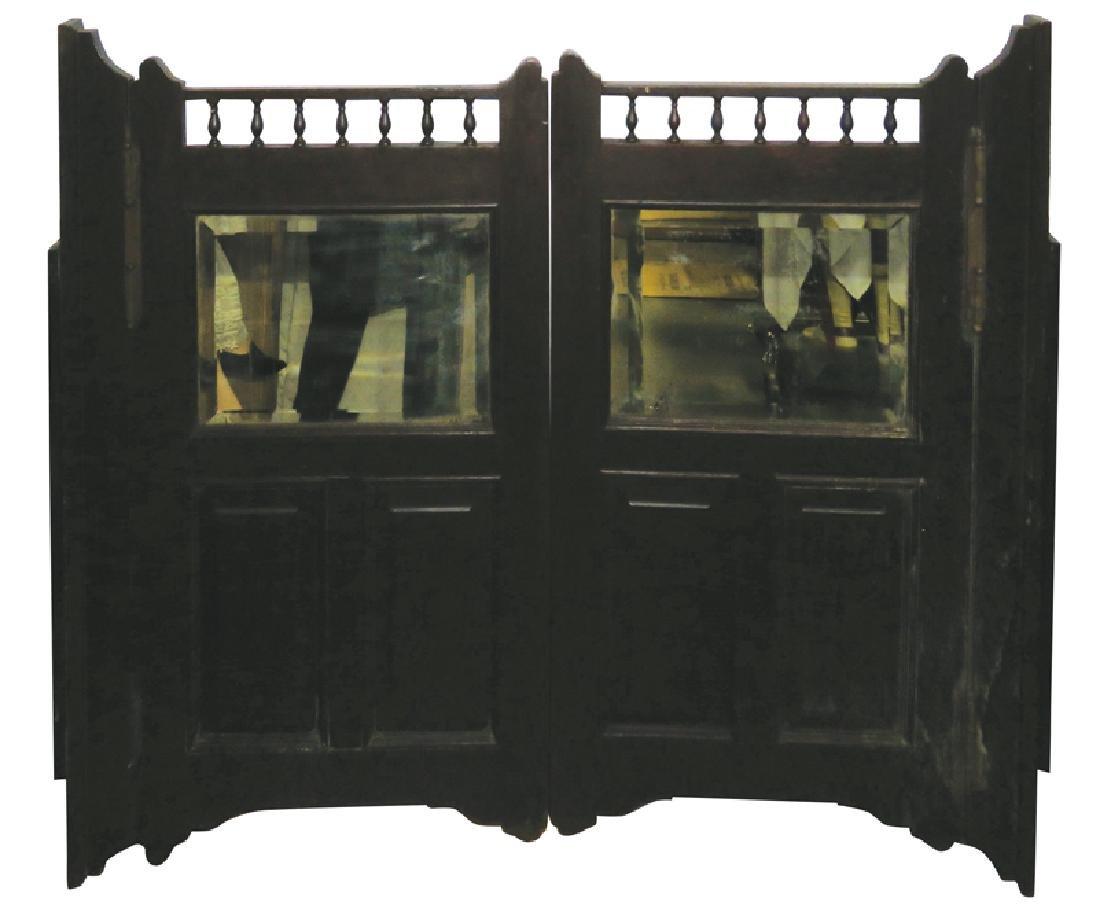 Mahogany Saloon Doors - 2