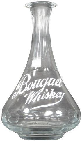 Bouquet Whiskey Saloon Back Bar Bottle