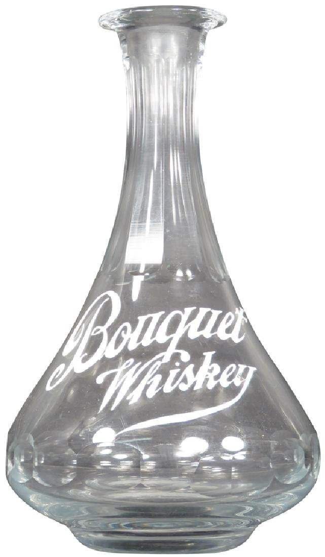 Bouquet Whiskey Saloon Back Bar Bottle