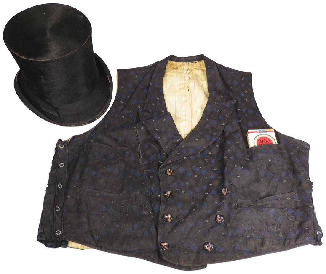 Gambler's Cheating Top Hat and Vest