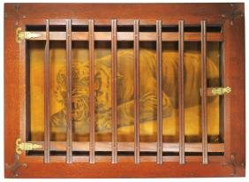 Bucking the Tiger Cage Lithograph, Faro