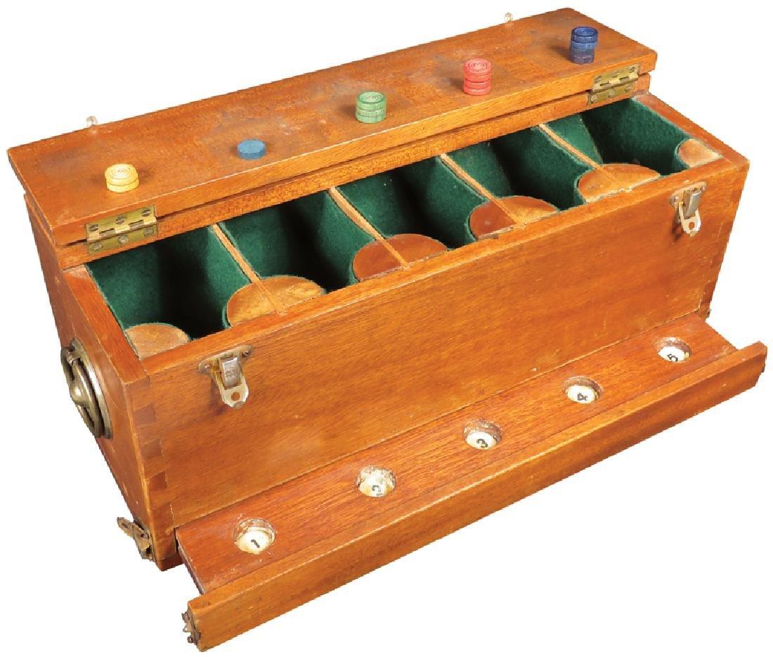 Wood Gambling Box