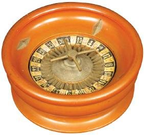 Unusual Small Roulette Wheel