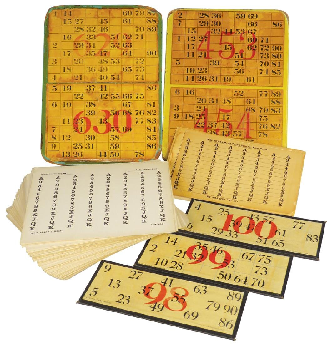 Collection of Gambling Cards