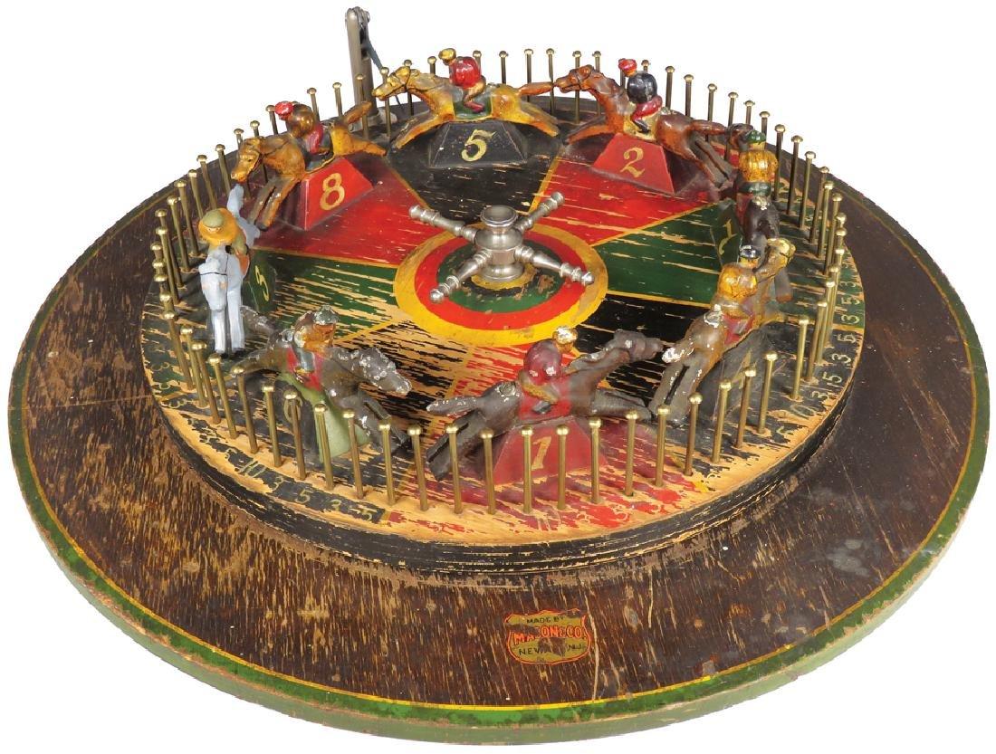 Horse Race Gambling Wheel Casino Table Game