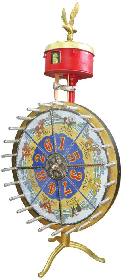 H.C Evans Co. Small Wheel of Fortune Game