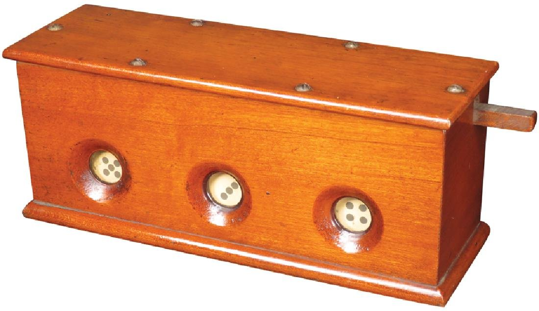 De Grain's Improved Dice and Game Apparatus
