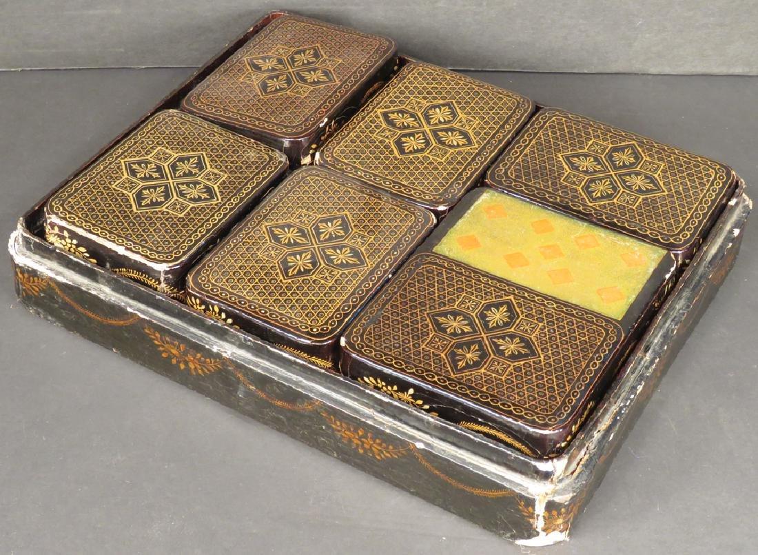 Fancy Gambling Card & Chip Marker Storage - 2
