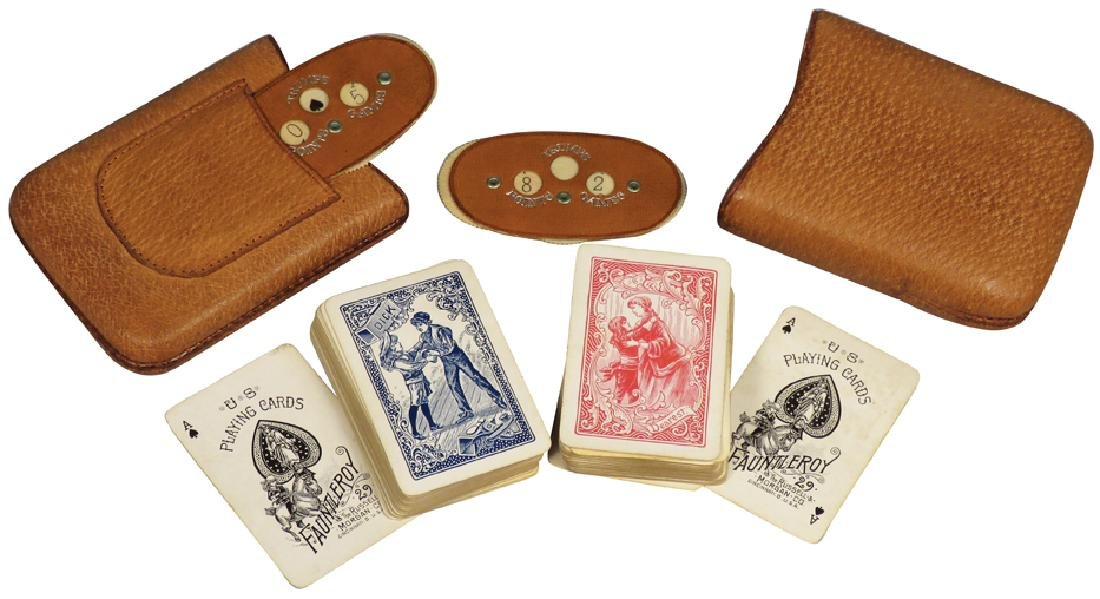 Leather Playing Card Holder
