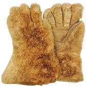 Vintage Fur Gloves