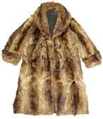 Frontiersman Coyote Pelt Coat