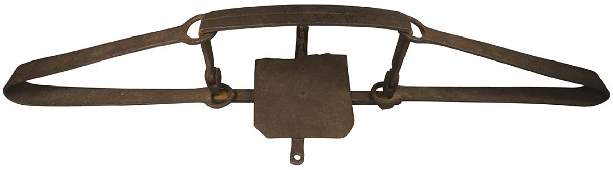 Old Blacksmith Hand Forged Beaver Trap