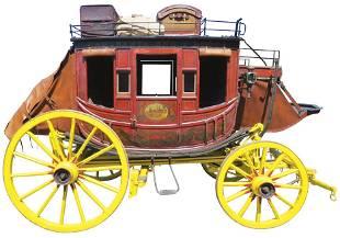 1860's Concord Original Stage Coach