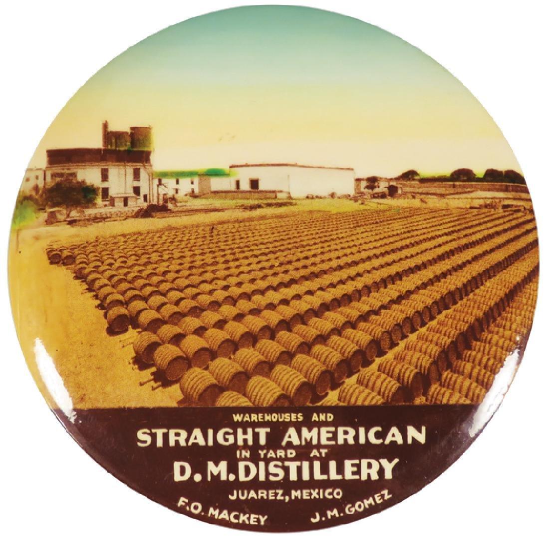 D.M. Distillery Juarez, Mexico Advertising Mirror