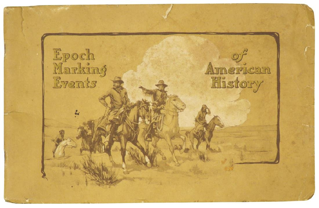 Epoch Marking Events of American History Booklet
