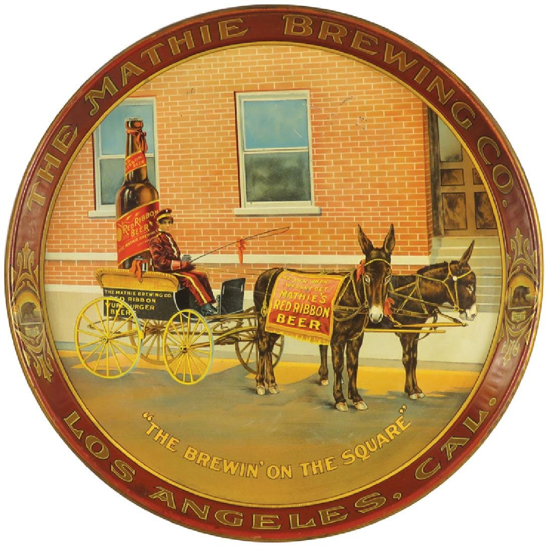 The Mathie Brewing Co. Tin Serving Tray