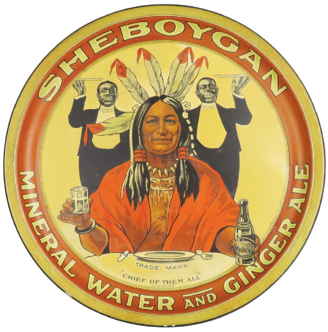 Sheboygan Mineral Water and Ginger Ale Tray