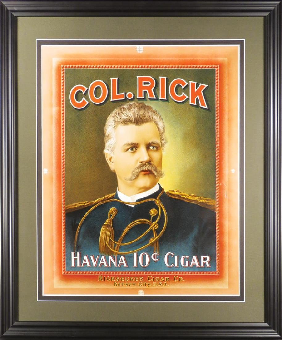 Col. Rick Havana 10 Cent Cigar Printers Proof